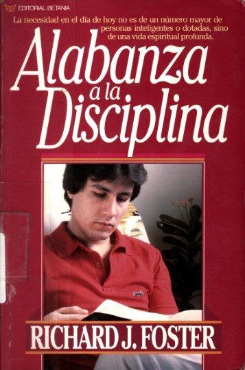 Alabanza a la disciplina - Iglesia Evangelica Metodista Fuente de ...