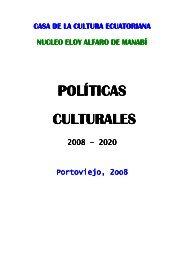 politicas culturales - Dr. Dumar Iglesias Mata - Casa de la Cultura ...