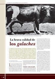 Clásicos ganaderos en Las Ventas: Los galaches