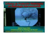 Criterios de Protección Radiológica en Radiología Intervencionista
