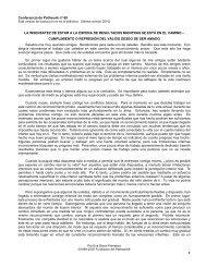 1 Conferencia de Pathwork nº 69 LA ... - Pathwork México