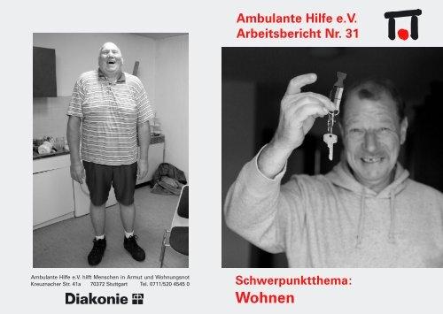 Wohnen - Ambulante Hilfe Stuttgart