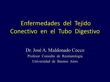 Enfermedades del Tejido Conectivo en el Tubo Digestivo