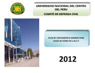 MANUAL PLAN DE CONTINGENCIA UNCP.pdf - Universidad ...