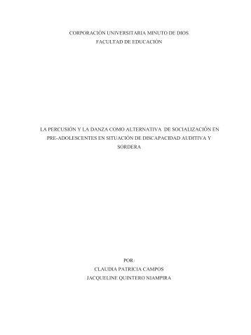 CORPORACIÓN UNIVERSITARIA MINUTO DE DIOS ... - Uniminuto