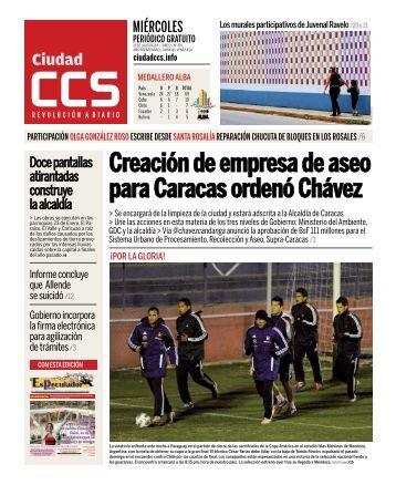 Creación de empresa de aseo para Caracas ordenó ... - Ciudad CCS