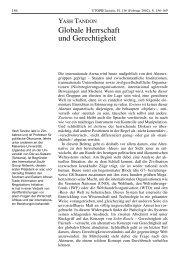 Globale Herrschaft und Gerechtigkeit - Rosa-Luxemburg-Stiftung