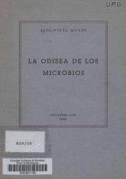 LA ODISEA DE LOS MICROBIOS