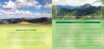 I. El medio físico AGENDA LOCAL 21 DE EIBAR - Debegesa