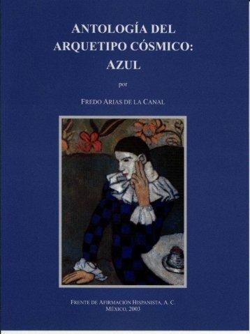 antología del arquetipo cósmico - Frente de Afirmación Hispanista