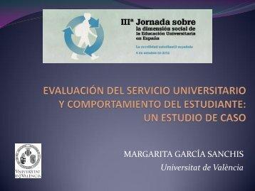 la evaluación del servicio universitario - Campus Vivendi