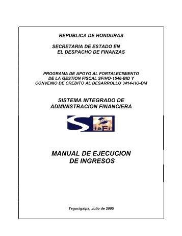 MINISTERIO DE HACIENDA - Secretaría de Finanzas