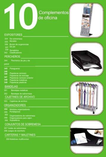 Complementos de oficina - Ecolider Manacor