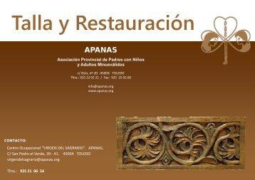 Talla y Restauración - Apanas