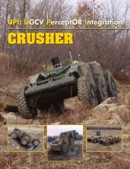 CRUSHER - National Robotics Engineering Consortium - Carnegie ...