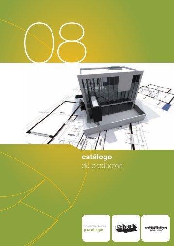 catálogo de productos - brinox
