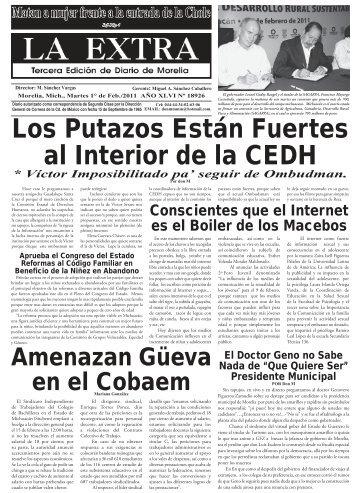 Ver - La Extra / Diario de Morelia / Noticias Morelia / Noticias ...
