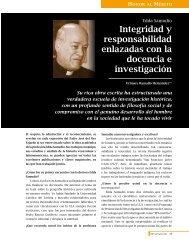 Integridad y responsabilidad enlazadas con la ... - Saber ULA