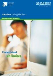 Productividad sin límites Amadeus