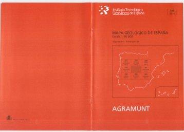 Instituto Tecnol GeoMine de E - Instituto Geológico y Minero de ...