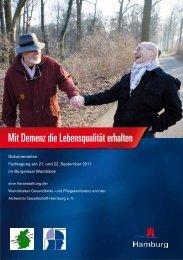Mit Demenz die Lebensqualität erhalten - Alzheimer Gesellschaft ...