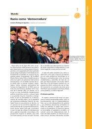 Rusia como 'democradura' - ANUE