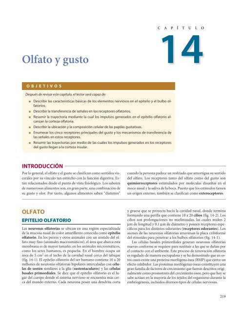 Olfato Y Gusto Pdf Mcgraw Hill Higher Education