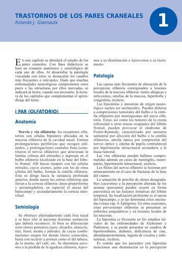 TRASTORNOS DE LOS PARES CRANEALES - Axon