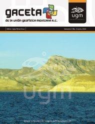 Gaceta Vol. 2, No. 4 - Unión Geofisica Mexicana AC