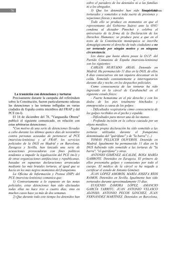 Comunicado del PCE(m-l) aparecido en Vanguardia Obrera. - Frap.es