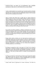 Proclamación Candidatura - Nuevo Espacio de Participación