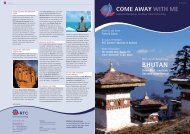 BHUTAN - RTC Rose Travel Consulting