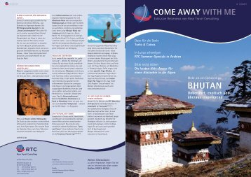 BHUTAN - RTC Rose Travel Consulting