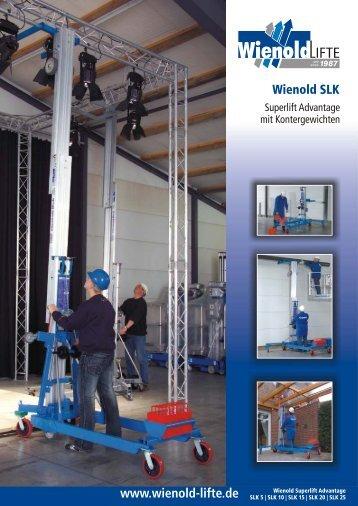 www.wienold-lifte.de Wienold SLK - Norbert Wienold GmbH