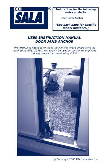 essential safety measures maintenance manual