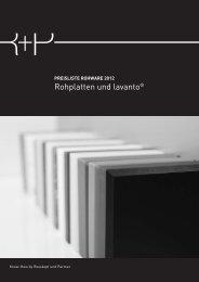 preisliste rohware 2012 - Rosskopf + Partner