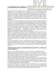 LOS HEREJES DE PLASENCIA - Paseo Virtual por Extremadura