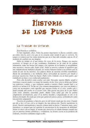 Historia de los Puros - Requiem Nocte