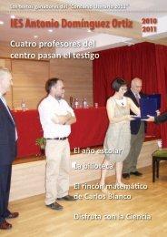Todas las publicaciones del curso 2010-11 las hemos ido ...