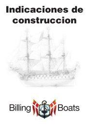 Indicaciones de construccion - Billing Boats