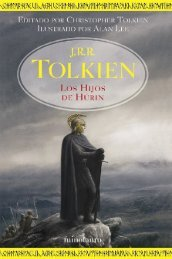 HIJOS DE HURIN tapa dura - Tolkienbiblioteca.com