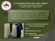 03 REC 141 PRESENTACION TINTES ... - Repositorio UTN