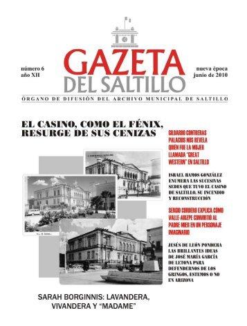 gazeta JUNIO 2010.pmd - Archivo Municipal