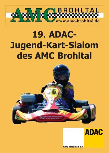 19. ADAC- Jugend-Kart-Slalom des AMC Brohltal