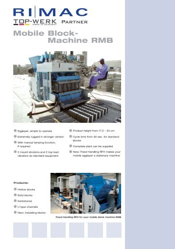 Mobile Block - RI MAC Maschinen & Anlagen GmbH