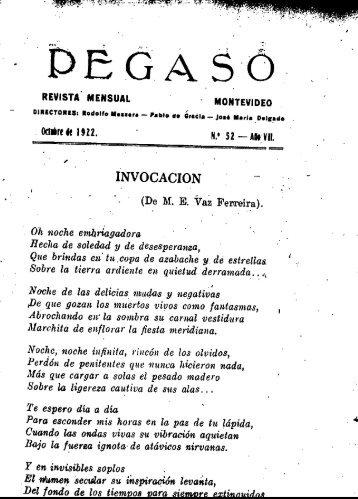 Año 7, nº 52 (oct 1922) - Publicaciones Periódicas del Uruguay