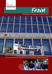 Marzo 2009 - Federación Regional de Asociaciones de Vecinos de ...