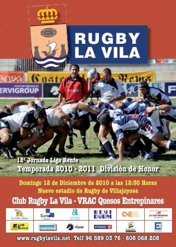 Club Rugby La Vila - VRAC Quesos Entrepinares - Página web del ...