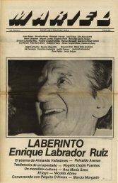 Número 3, Otoño de 1983 - Revista Mariel