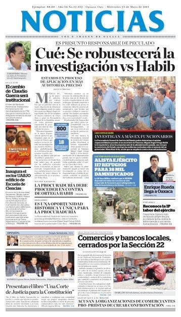 MAYO - Noticias Voz e Imagen de Oaxaca